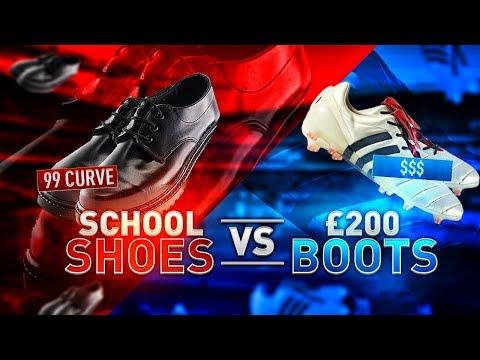 SCHOOL SHOES VS £200 BOOTS!