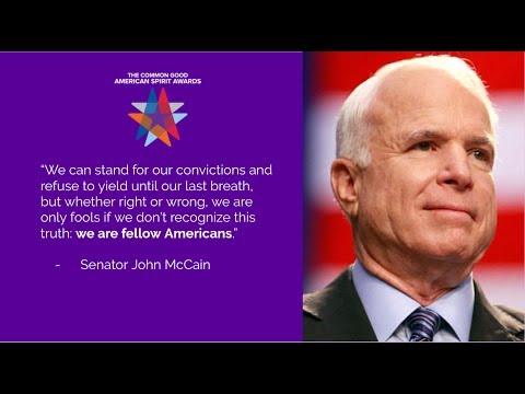 John McCain at The Common Good