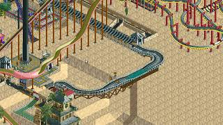 Rollercoaster Tycoon Loopy Landscapes #152 (Dusty Desert: The best for last)