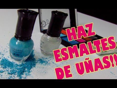 Cómo Hacer Esmalte De Uñas De Colores Muy Fácil