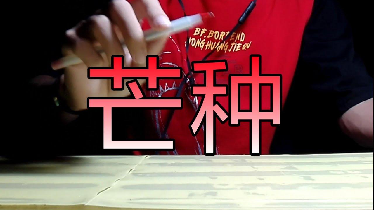 Mang Chủng / 芒种 - Âm Khuyết Thi Thính, Triệu Phương Tịnh || Pen Tapping cover by Hatake Tapper