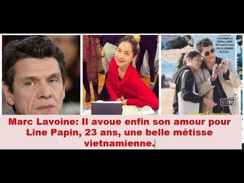 Marc Lavoine amoureux de Line Papin, 23 ans, une belle métis