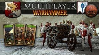 The Hellblaster Gryph Army Build (Total War: Warhammer 2 Online Battle #300)