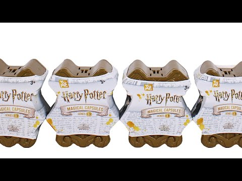 YuMe Harry Potter Magical Capsules Blind Box Unboxing Toy Review