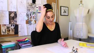 How To Render Fashion Drawings : Fashion Design For Beginners