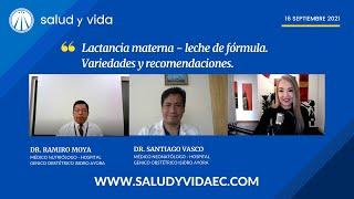Lactancia materna - leche de fórmula. Variedades y recomendaciones. DRS SANTIAGO VASCO y RAMIRO MOYA