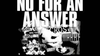 No For An Answer - You Laugh [Full EP]