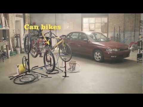 Can you fuel a car with bikes? Morrisons Fuel Saver Challenge: part 3