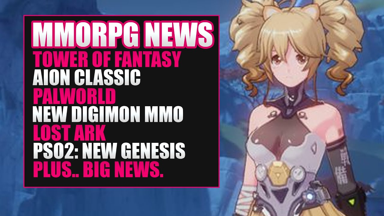 MMORPG News: WE GOT NEW MMOs COMING! Lost Ark, New Digimon MMO, Tower of Fantasy, Palia, Elyon