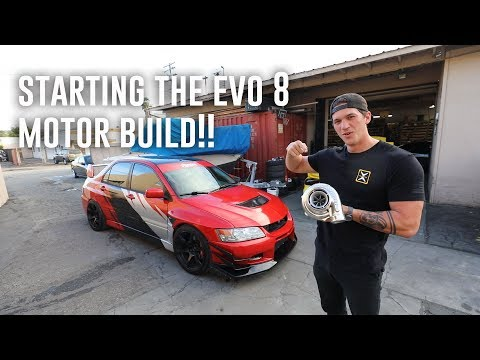BUYING A BIG TURBO FOR THE EVO 8!