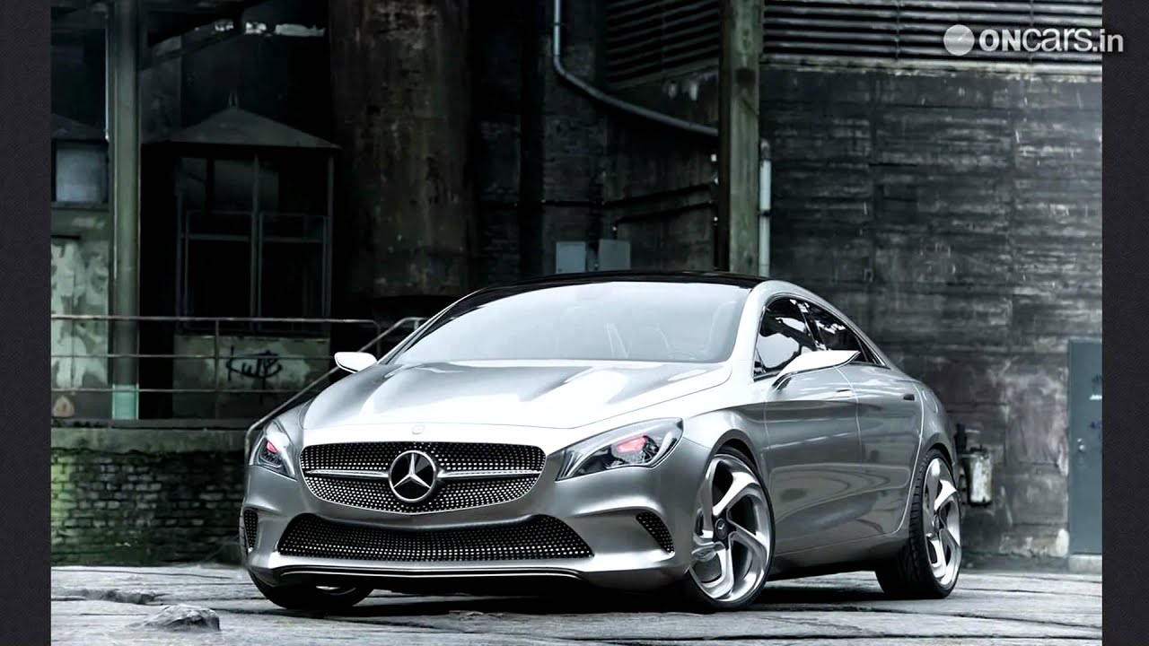 mercedes cla four door coupe spied without any camouflage. Black Bedroom Furniture Sets. Home Design Ideas