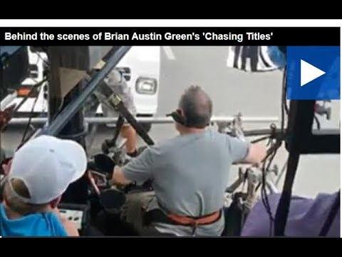 Behind the scenes of Brian Austin Green's 'Chasing Titles'