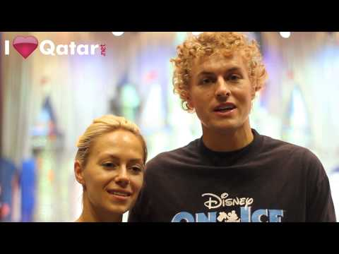 ILQ has a chat with Disney On Ice skaters!