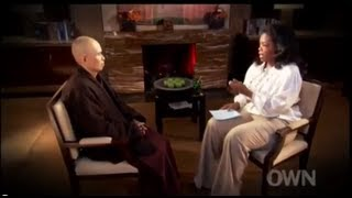 Oprah Winfrey talks with Thich Nhat Hanh Excerpt - Powerful thumbnail