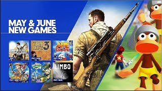 PlayStation Now - May & June 2018 Update - PS4, PC