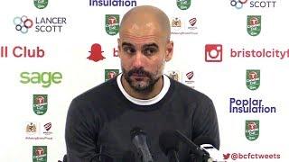Bristol City 2-3 Manchester City (Agg 3-5) - Pep Guardiola Full Post Match Press Conference