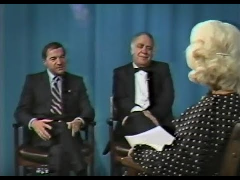 Harrison Cable TV  conversations with Edith   Nov. 11, 1985 with JJD and Rabbi Davis