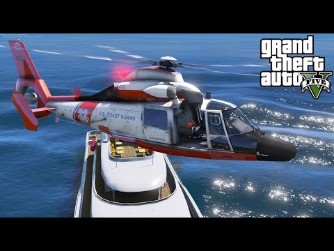 GTA 5 Coastal Callouts   New Helicopter Taxi Feature   Coast Guard Medevac