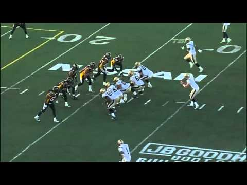 HARDEST FOOTBALL HIT EVER - QB SACK CFL