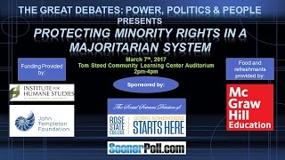 The Great Debates: Power, Politics, & People - Protecting Minority Rights in a Majoritarian System