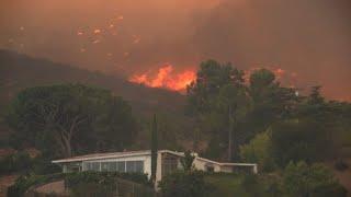 Incendie sans précédent à Los Angeles, 500 foyers évacués