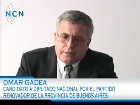 Omar Gadea - Candidato A Diputado Nacional