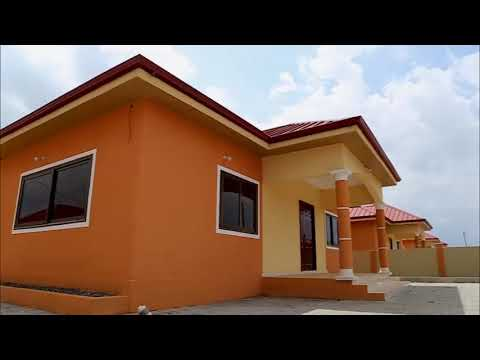 2 bedroom house in Accra Ghana by Lakeside Estate
