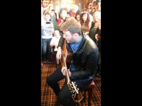 James Arthur performs Hometown Glory