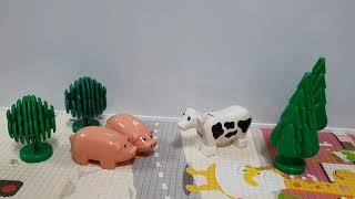 돼지 두형제와 젓소의 만남