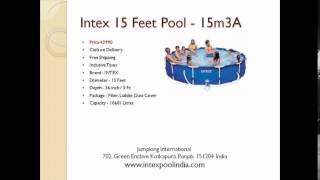 portable inflatable intex swimming pool