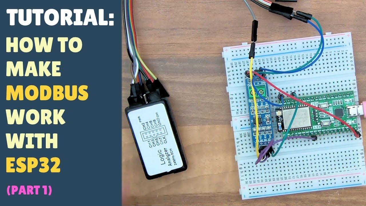 TUTORIAL: How to make MODBUS work with ESP32 - Arduino - RS485 - Part 1