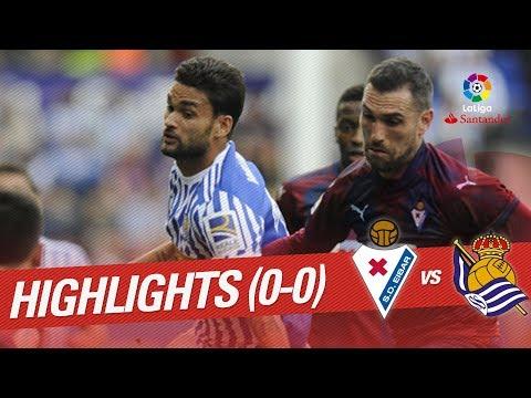 Resumen de SD Eibar vs Real Sociedad (0-0)