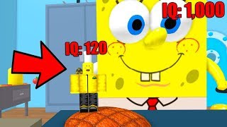 WHICH ONE IS BETTER, SPONGEBOB OR ME? (Roblox)