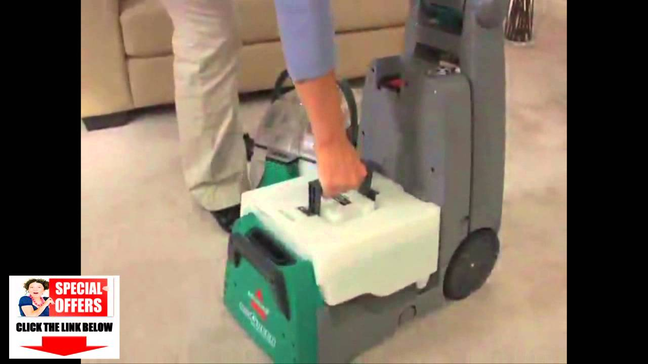 bissell big green deep cleaning machine carpet cleaner 86t3 youtube