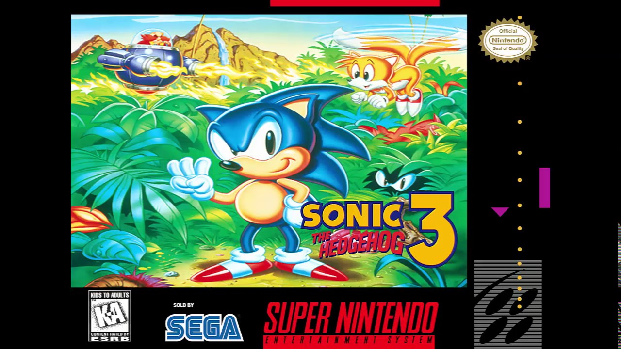 Sonic The Hedgehog 3 Final Boss Snes Remix Youtube