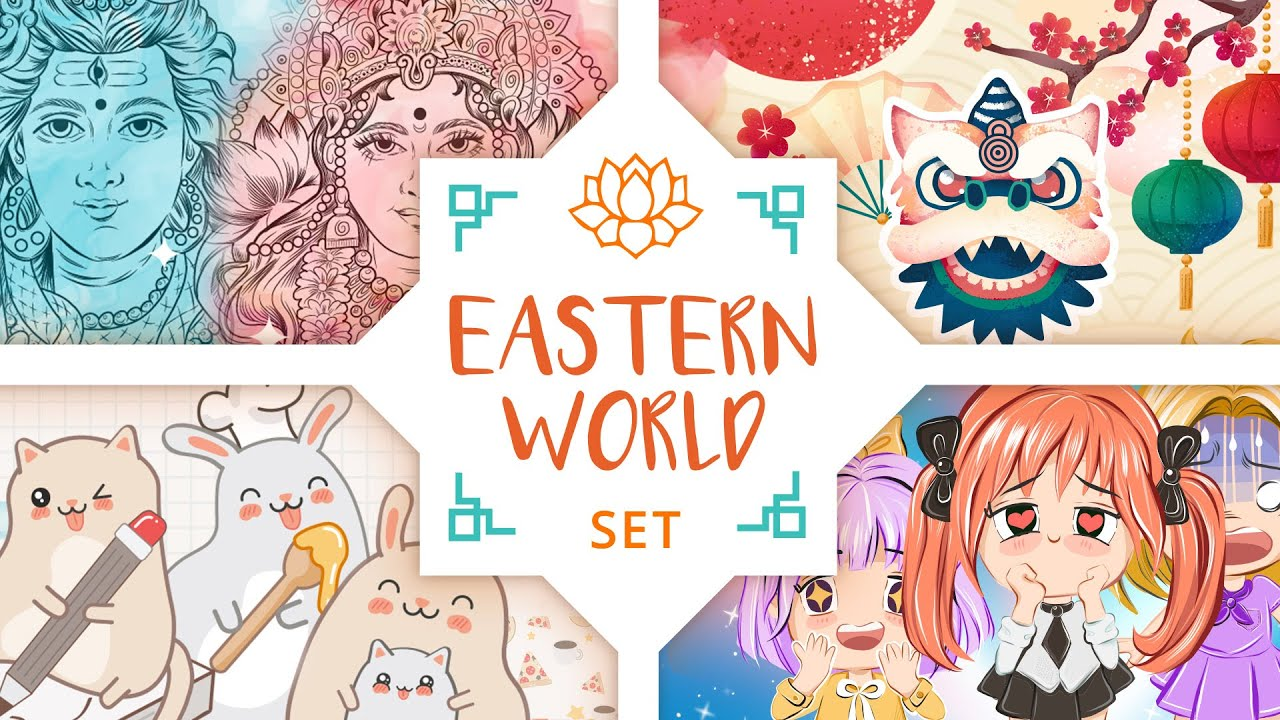 Movavi Effects Store | Eastern World Set