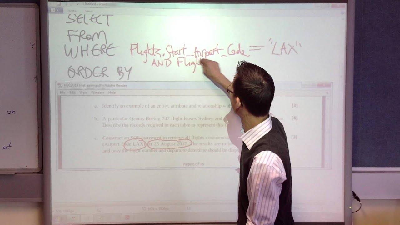 Flight Database: SQL Query