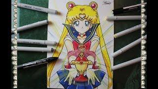 Cómo Dibujar El Santo Grial Sailor Moon How To Draw Sailor Moon S Speed Drawing   CarlosNaranjoTV