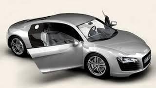 3D Model of Audi R8 Review