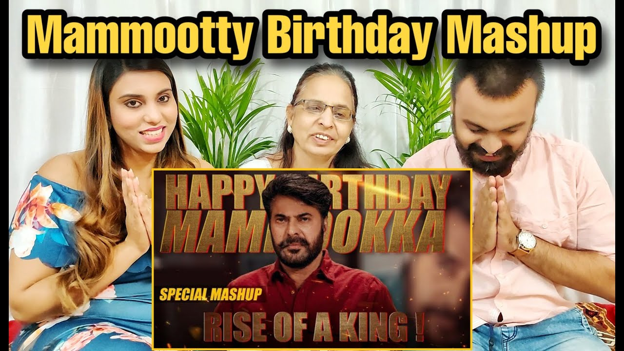 Rise of a King | Mammootty Birthday Special Mashup Reaction | Linto Kurian | NSM Reaction