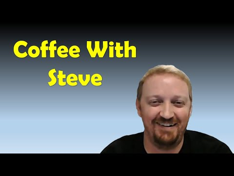 Coffee With Steve - Live Call In Show | Software Education | Technology thumbnail