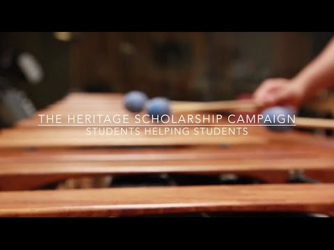 The Heritage Scholarship Campaign