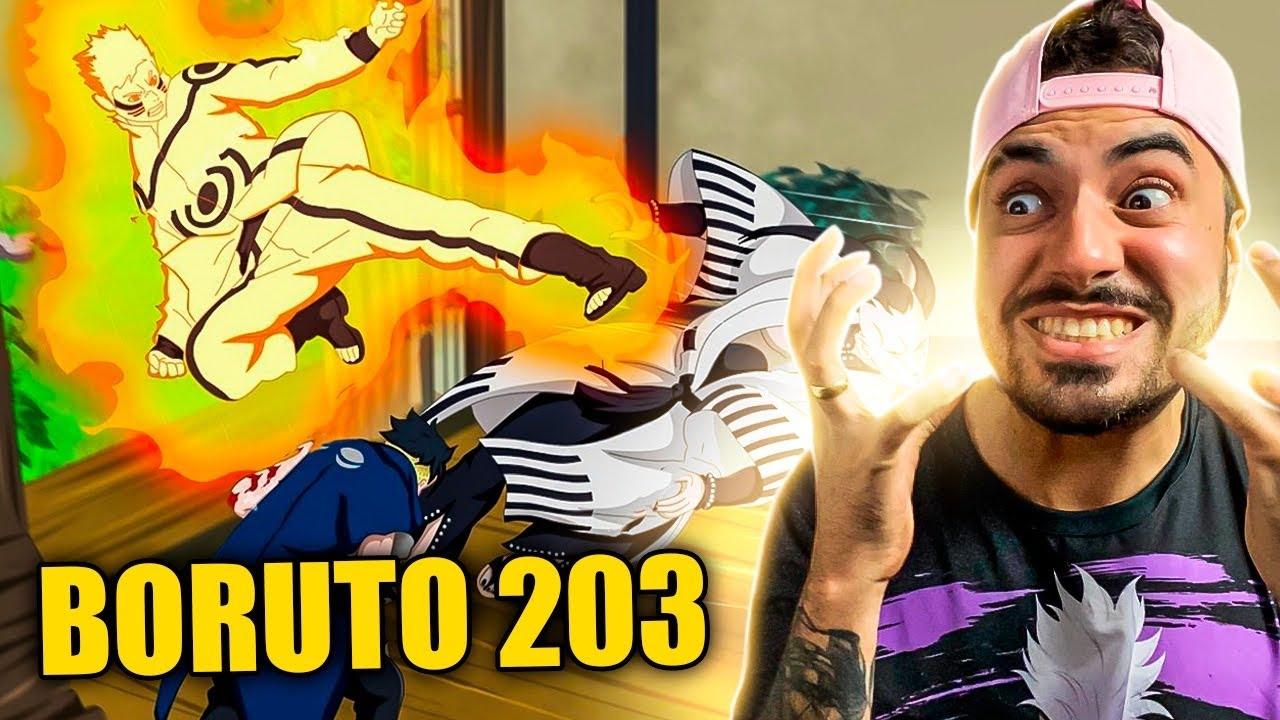 NARUTIN CHEGOU NA VOADORA!!! Boruto 203 - Fred | Anime Whatever