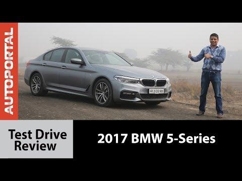 2017 BMW 5-Series Test Drive Review - Autoportal