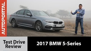2017 BMW 5-Series Test Drive Review - Autoportal