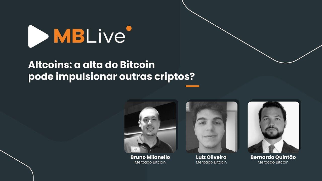 🔴MBLive - Altcoins: a alta do Bitcoin pode impulsionar outras criptos?