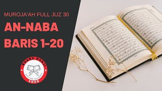 Download lagu SHDB - Muroja'ah  Full Juz 30 An-Naba' Baris 1-20