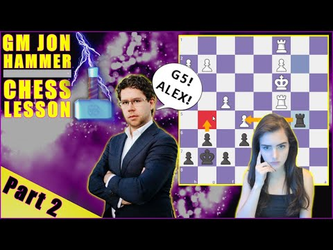 Chess Lessons with GM Jon Ludvig Hammer - Part 2
