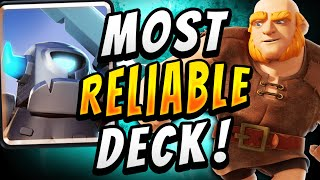2.9 ELIXIR GIANT CYCLE! STRONGEST GIANT DECK! — Clash Royale