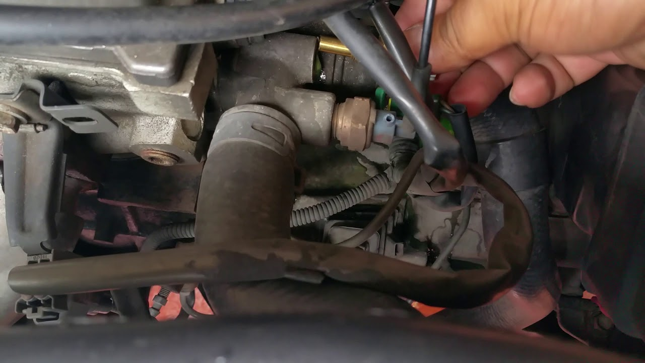 Como Cambiar Sensor De Temperatura De Toyota Tercel 1996